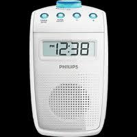 philips ae2330 badezimmer radio digital weiß