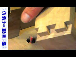 how to cut dovetail joint with the router table youtube
