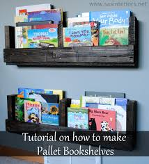 How to Make a Pallet Bookshelf Jenna Burger