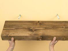 Reclaimed Wood Shelf Diy by Diy 10 Shelf That Anyone Can Build Diy Wood Shelving And