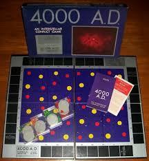 4000 A D Board Game