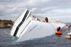 costa concordia divers suspend search of sinking italian cruise ship