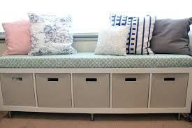 Banquette Bench With Storage Storage Benches Entryway Bench With ... Banquette Fniture With Storage Bench Built In Kitchen Corner Booth Seating Ana White Diy Projects Noble Build A Also Remodelaholic Ding Tables Fabulous Round How To Window Seat With To A Custom Diy Entryway Ideas Charming 81 Ikea