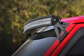 Rough Country Jeep 50 inch Curved LED Light Bar Upper Windshield