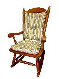100 Greendale Jumbo Rocking Chair Cushion Set Colton Black Gold Federal