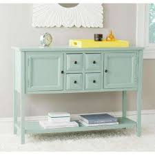 Charlotte Aqua Smoke Buffet With Storage