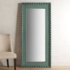 Pier One Imports Mirrored Chest by Smoke Blue Wood Framed Floor Mirror Pier 1 Imports