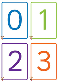 Teacher s Pet Colourful Number Cards 0 50 FREE Classroom Display