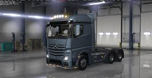 MERCEDES ACTROS 2014 TRUCK With All Cabins & Accessories - ATS Mod ...