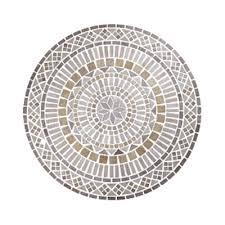 florida tile pietra travertine rosone 36 giallo tile