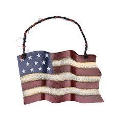 Small American Glory Flag Wall Decor