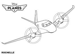 Coloriage Plane 6283