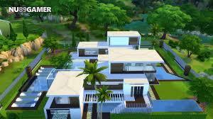 100 Villa House Design BEST MODERN HOUSE The Sims 4 Mansion