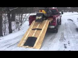 homemade snowmobile truck r youtube