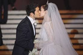 Huang Xiaoming And Angelababy Tie The Knot At Shanghai Exhibition Center Xinhua