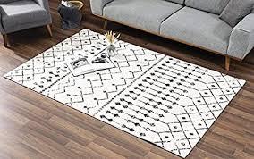 vivense astro teppich für wohnzimmer und schlafzimmer groß 160 x 230 cm cremefarben schwarz