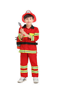 100 Fire Truck Halloween Costume Amazoncom Yolsun Man Role Play For Kids Boys And