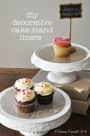 Lorrie Everitt Studio let s celebrate with diy cake stand liners
