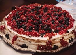 Italian Wedding Cake Millefoglie With Berries For In Tuscany