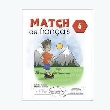 Match De Français 6 Éditions De LEnvolée
