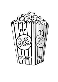 Flp Popcorn Clip Art