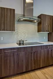 white glass mosaic tile kitchen midcentury with glass tile glass