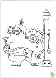 Minions Coloring Page Printable Pages