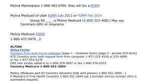 Catamaran Insurance Pharmacy Help Desk by Prior Auths Google Docs