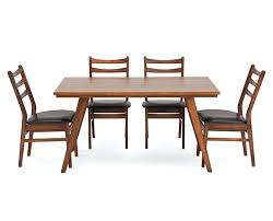 Furniture Row Dining Tables 5 Room Set Mission Table