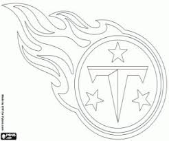 Tennessee Titans Emblem Coloring Page
