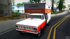 100 U Haul Pickup Trucks Ford F350 1971 V11 For GTA San Andreas