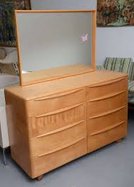 Birdseye Maple Highboy Dresser by Mr And Mrs U0027 Maple Dresser By Heywood Wakefield Encore Bedroom