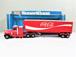 Vintage Matchbox Coca-Cola Peterbilt Refrigeration Truck Super Kings ...