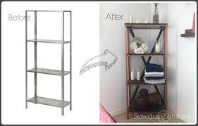 Pantry Cabinet Ikea Hack by Hyllis Ikea Hack Sawdust 2 Stitches
