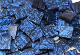 bulk discount blue gogh stained glass mosaic tiles mosaic