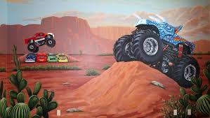 100 Monster Truck Bedroom Murals Theme Rooms Flying Colors Murals