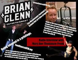 100 Mary Ann Thompson Brian Glenn Radio 2 Interviews W Frenk Nov 2015