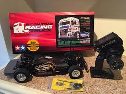 Used Tamiya RC Racing Truck Complete In CF44 Aberdare For £ 180.00 ... Tamiya F104 6x4 Tractor Truck Rc Pinterest Tractor And Cars Tamiya Booth 2018 Nemburg Toy Fair Big Squid Rc Car Semi Trucks Cabs Trailers 114 Scania R620 6x4 Highline Truck Model Kit 56323 Buy Number 34 Mercedes Benz Remote Controlled Online At Rc Leyland July 2015 Wedico Scaleart Carson Lkw Truck Tamiya King Hauler Chromedition Road Train In Lyss Wts Globe Liner Shell Tank Trailer Radio Control 110 Electric Mad Bull 2wd Ltd Amazon Toyota Tundra Highlift Towerhobbiescom My Page