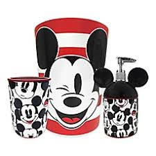 Mickey And Minnie Mouse Bath Decor by Mickey U0026 Minnie Bed Bath U0026 Beyond