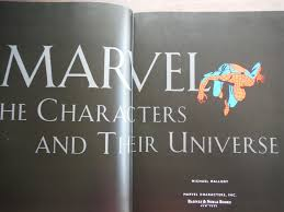 Marvel The Characters and Their Universe by Mallory Michael