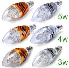 e14 base 3 1w 4 1w 5 1w led candle light bulb candelabra l warm