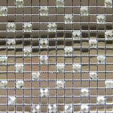 304 stainless steel mosaic tile available in various shapes