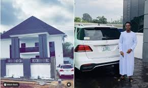 104 Lord B The Joy Of A N200m Mansion Poverty Na Mumu Itcoin Official Show Of His New Mansion Set To Uild More In Few Months Time Popup9ja
