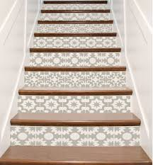 Stair Nosing For Vinyl Tile by Stair Stickers Ornate Vinyl Tile Decals For Stair Risers