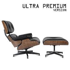 Eames Style Lounge Chair And Ottoman - 100% Aniline Leather ... Replica Eames Lounge Chairottoman Black Cowhide Leather Classic Lounge Chair Ottoman In 2019 Fniture And Restoration Ndw Design Blog A Guide For Buying Your Part I Best Herman Miller Mhattan Home Reinvents The Shock Mounts Of Full Aniline Platinum Reviews Find Buy Sand Collector