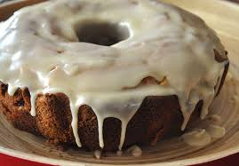 Apple Spice Bundt Cake with Browned Butter Frosting Mountain