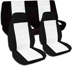 Two-Tone Car Seat Covers (Full Set, Semi-custom) Black & Red ... Custom Chartt And Seatsaver Seat Protectors Covercraft Canine Covers Semicustom Rear Protector Burgundy Car Solid Color Full Set Semi Coverking Genuine Crgrade Neoprene Customfit Saddle Blanket Custom Car Seat Covers Are Affordable Offer A Nice Fit Amazoncom Natural Wood Bead Cover Massage Cool Cushion Camouflage Front Semicustom Treedigitalarmy Licensed Collegiate Fit By Blue Camo Oxgord 17pc Pu Leather Red Black Comfort Truck Suppliers
