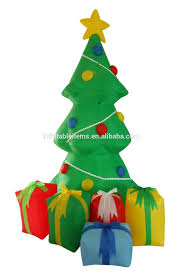 Grinch Blow Up Yard Decoration by Outdoor 6ft Christmas Santa Climbing Tree Dog Inflatable Blow Up