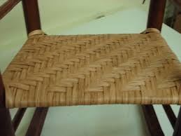 Recaning A Chair Back by Fiber Rush Heritage Basket Studio