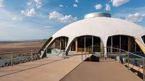 104 Mojave Desert Homes Futuristic Volcano House Gazes At The Stars In The Yatzer